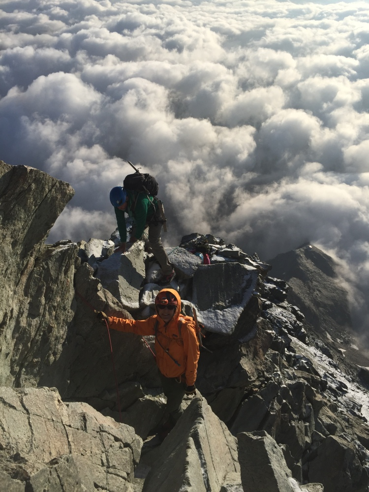 climb the Matterhorn Cervin Ross Hewitt Guiding 10
