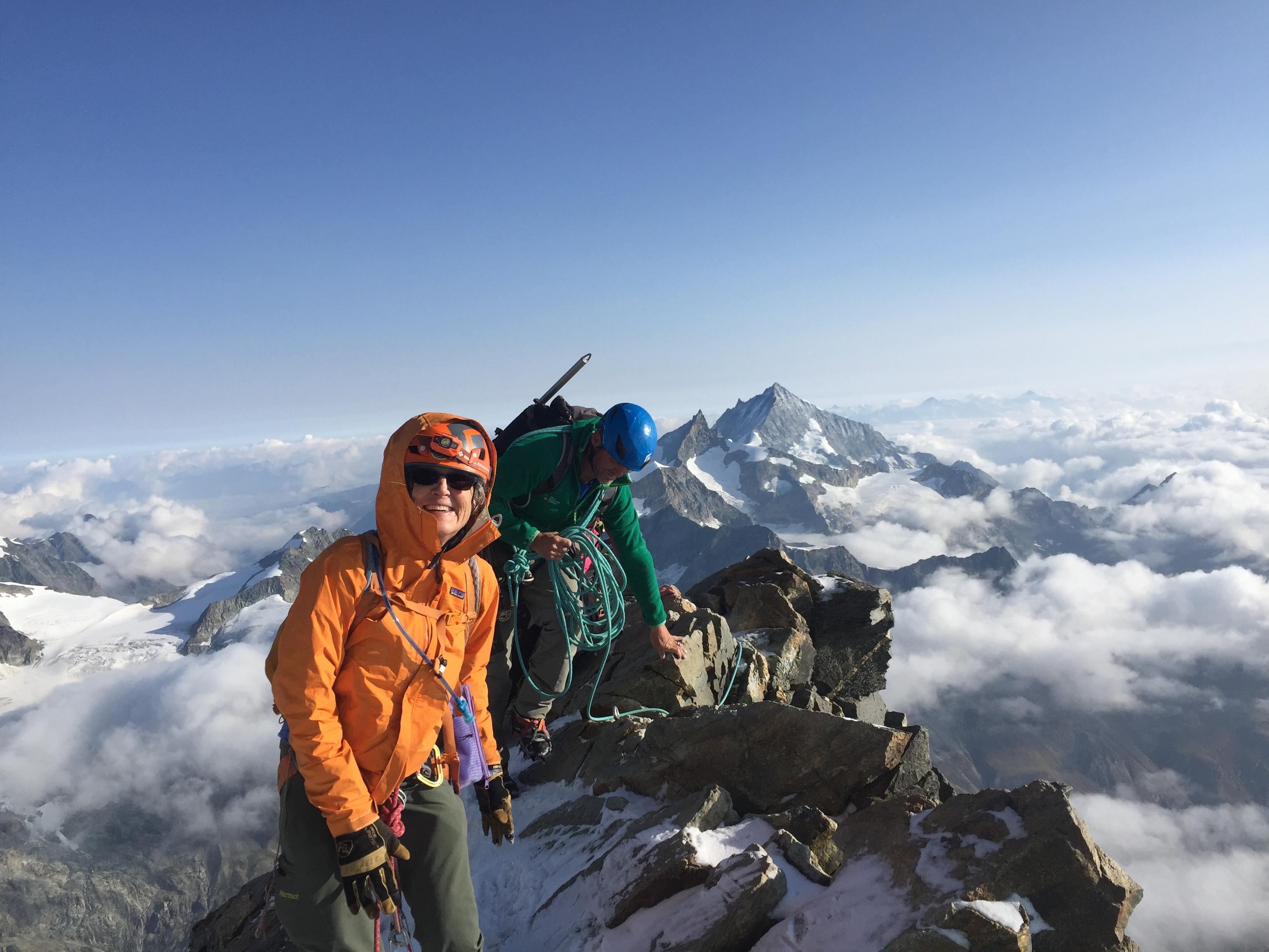 climb the matterhorn cervin Ross Hewitt Guiding 5