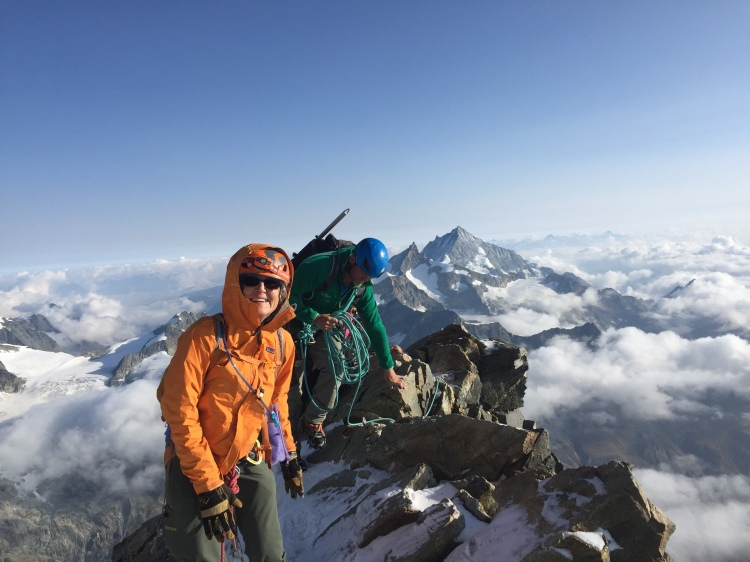 climb the matterhorn cervin Ross Hewitt Guiding 5