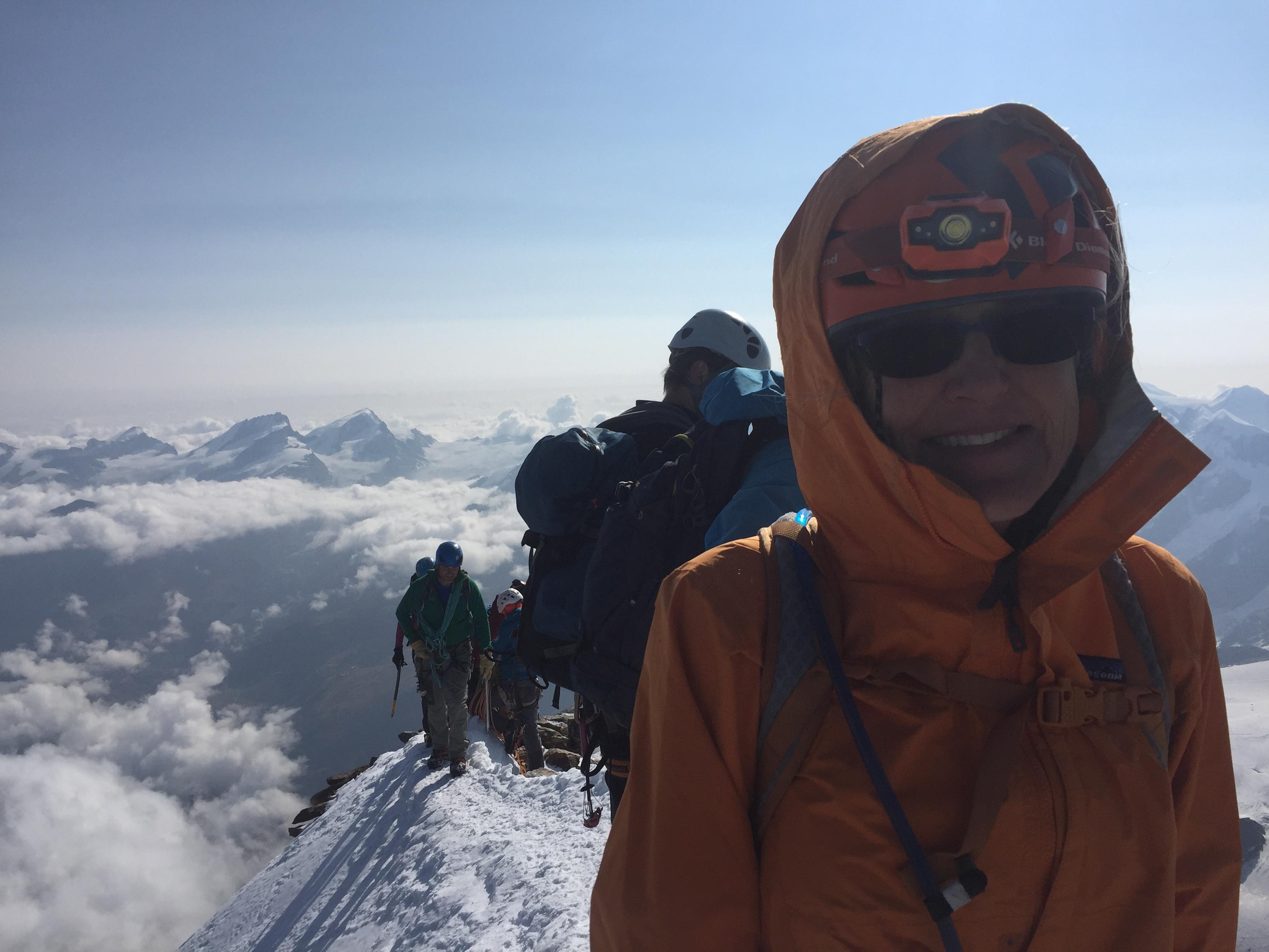 climb the matterhorn cervin Ross Hewitt Guiding 4