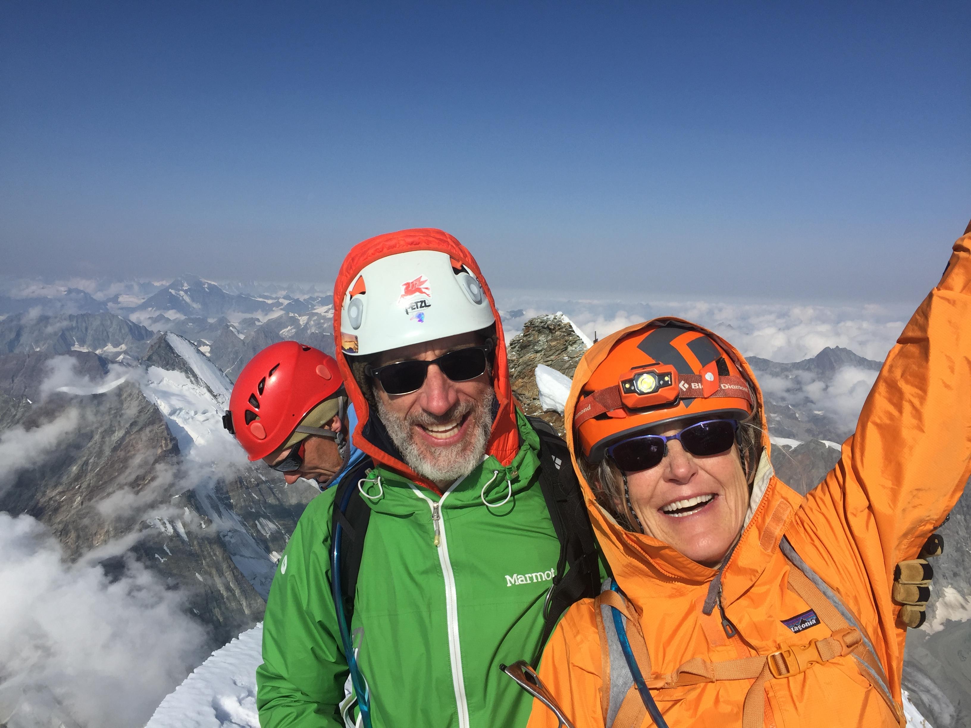 climb the matterhorn cervin Ross Hewitt Guiding 3