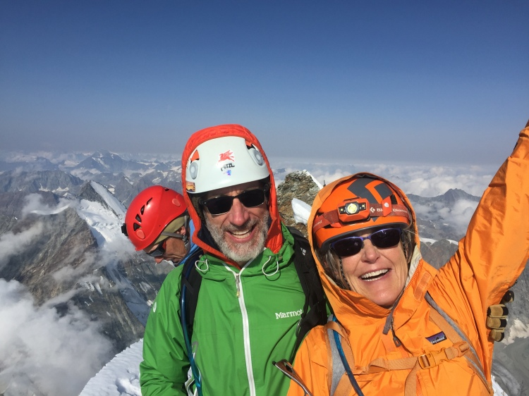 climb the matterhorn cervin Ross Hewitt Guiding 3