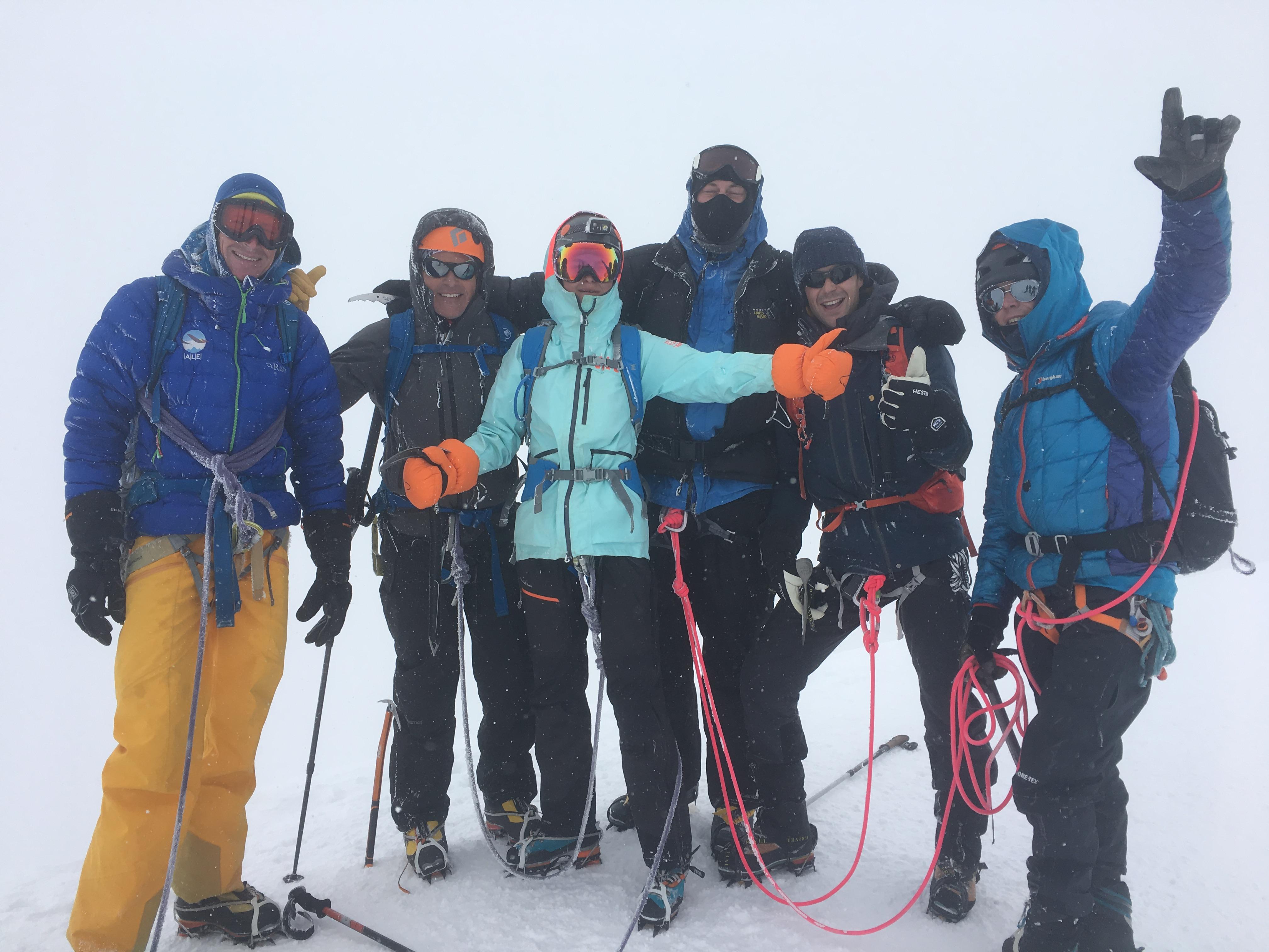 Mont Blanc Ross Hewitt Guiding 9