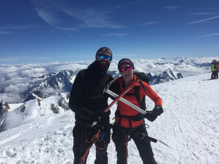 Mont Blanc Ross Hewitt Guiding 4