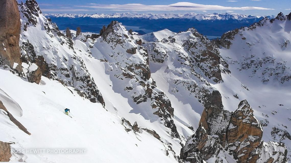 Ross Hewitt Guiding Patagonia Frey