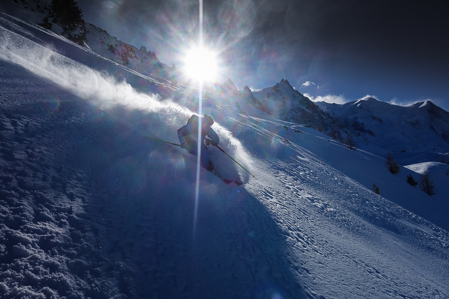 Ross Hewitt Guiding chamonix freeride 4