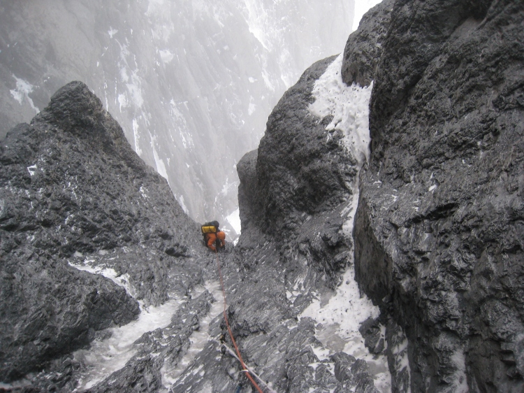 Ross Hewitt Guiding Grand Courses North Faces 21
