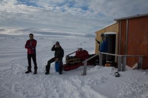 Ross Hewitt Guiding Baffin Island skiing 151