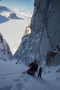 Ross Hewitt Guiding Baffin Island skiing 141