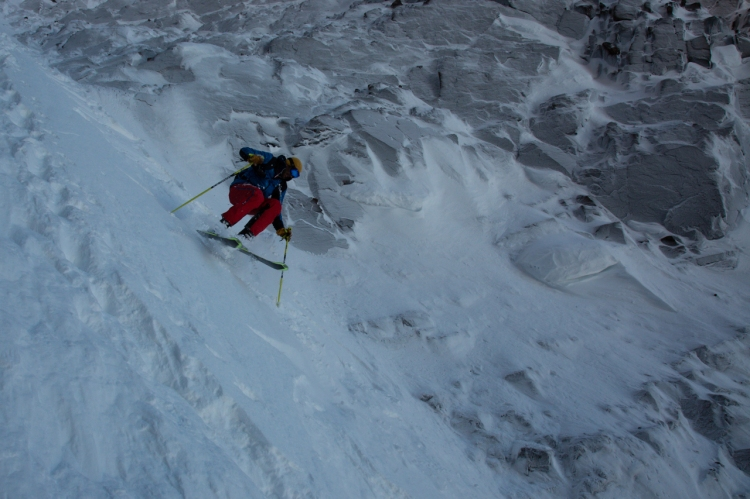 Ross Hewitt Guiding Baffin Island skiing 140