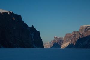 Ross Hewitt Guiding Baffin Island skiing 126