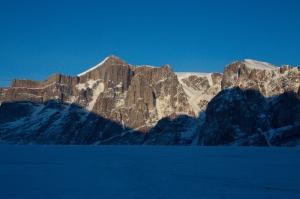 Ross Hewitt Guiding Baffin Island skiing 109