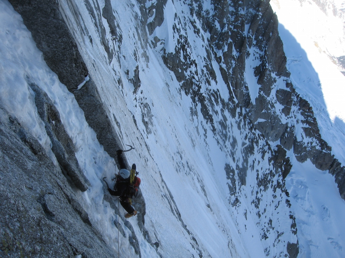 Ross Hewitt Guiding Grand Courses North Faces 20