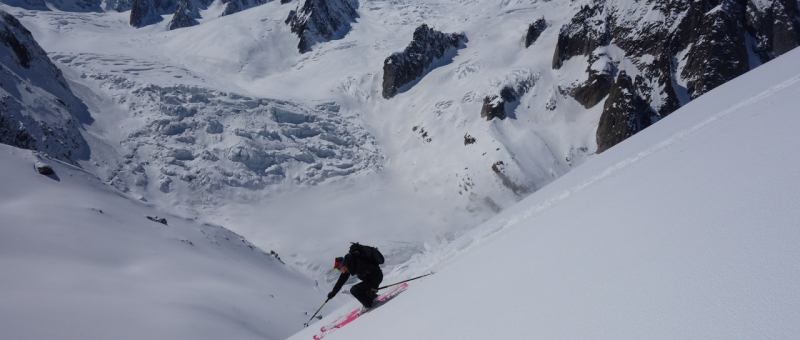 Ross Hewitt Guiding Chamonix Freeride 47