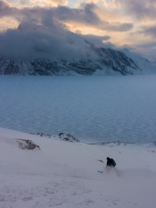Ross Hewitt Guiding expedition skiing baffin island 29