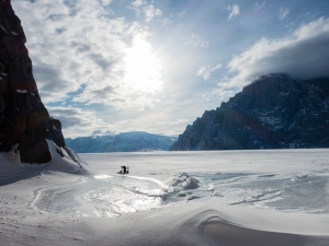 Ross Hewitt Guiding expedition skiing baffin island 22