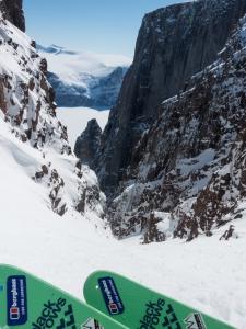 Ross Hewitt Guiding expedition skiing baffin island 14