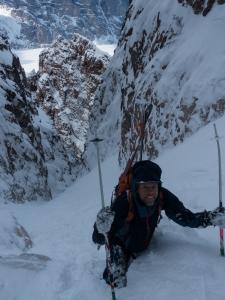 Ross Hewitt Guiding expedition skiing baffin island 8