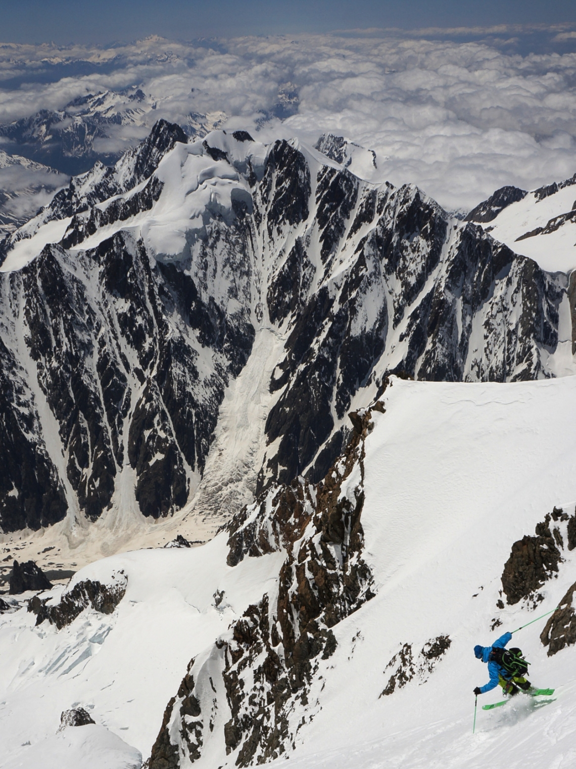 Ross Hewitt Guide West Face Mont Blanc