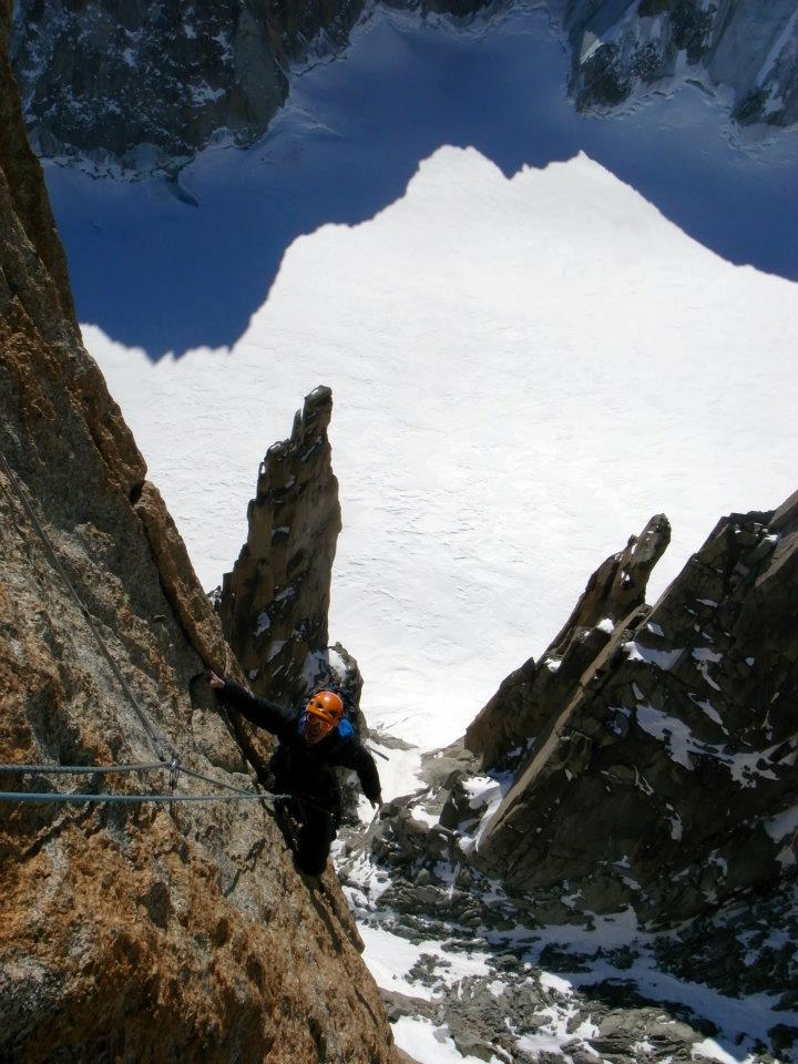 Ross Hewitt Guiding Grand Capucin 1