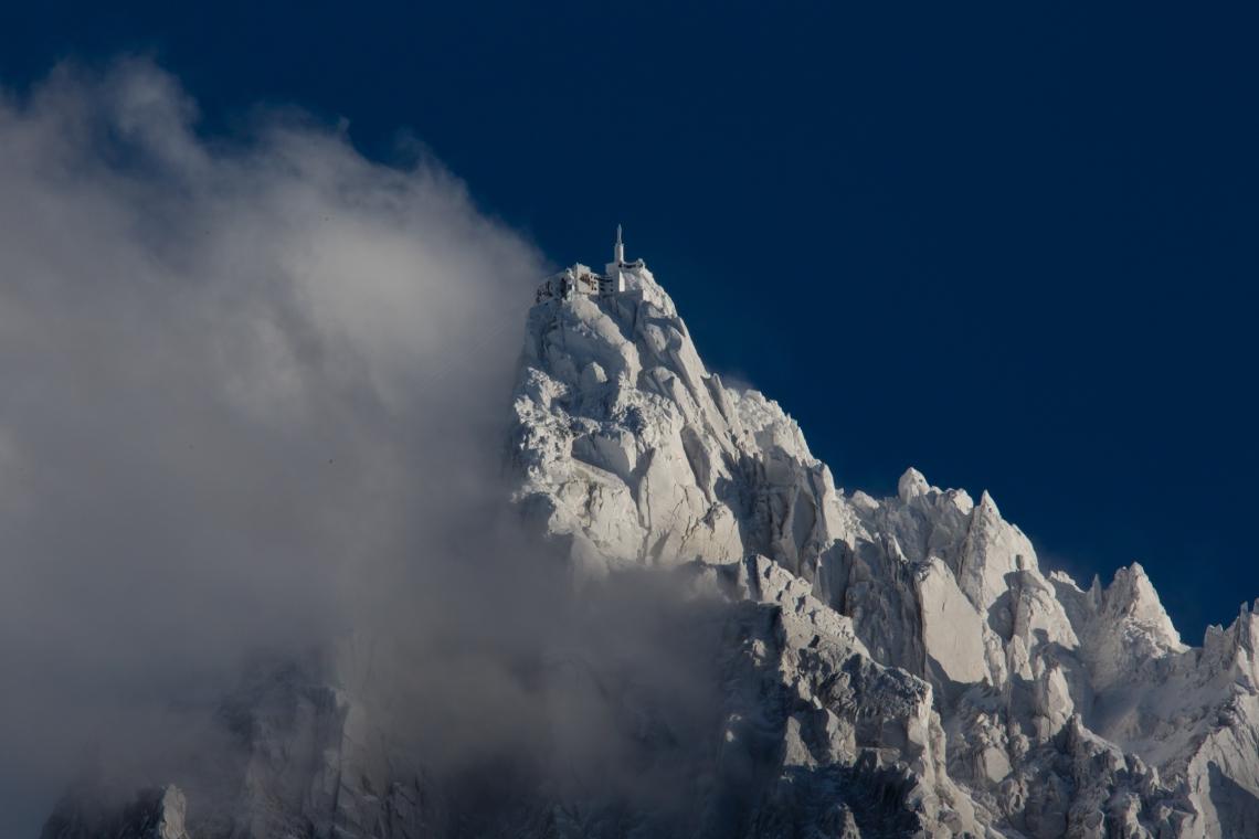 Ross Hewitt Ski Guiding Aiguille du Midi