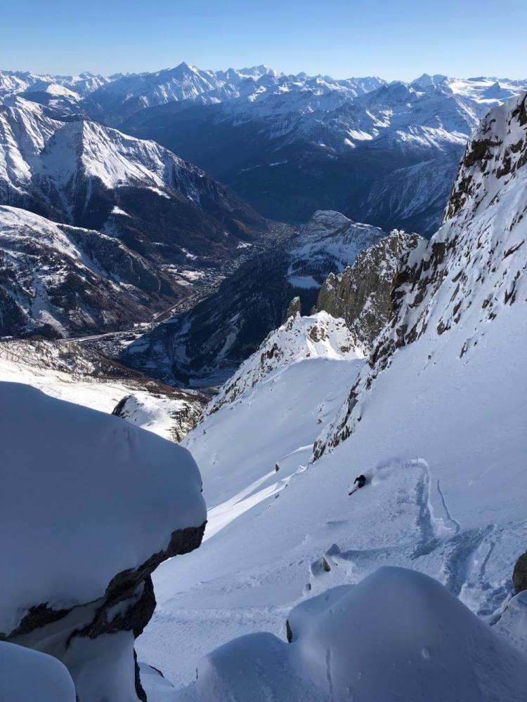 Ross Hewitt Ski Guiding Chamonix Freeride 007