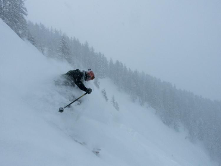 Ross Hewitt Ski Guiding Chamonix Freeride 010