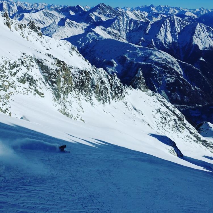 Ross Hewitt Ski Guiding Chamonix Freeride 013
