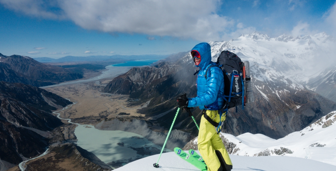 Ross Hewitt Ski Guiding New Zealand