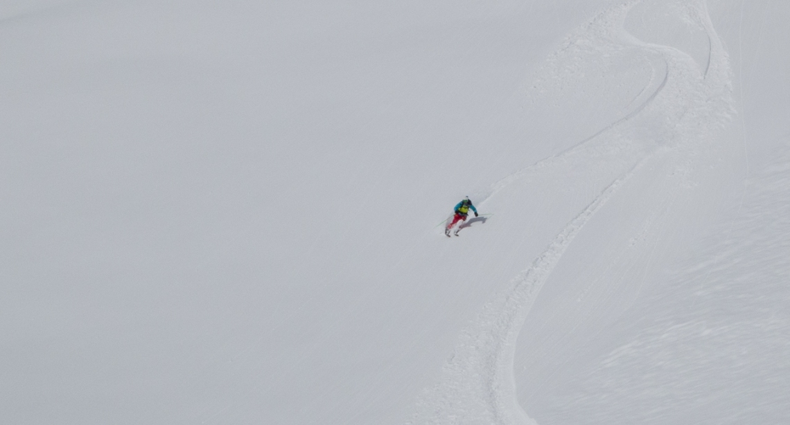 Ross Hewitt Ski Guiding Valley Blanche 001