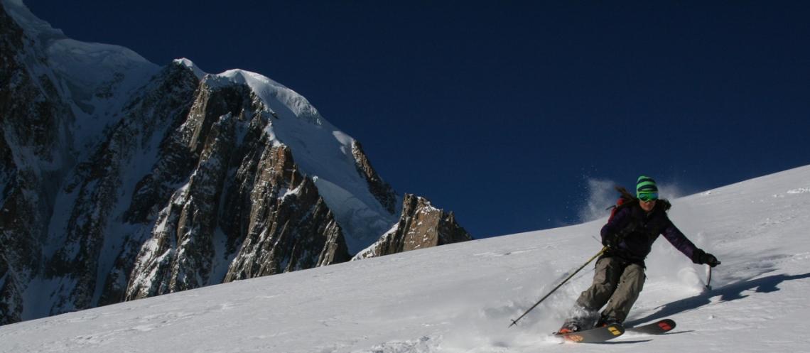 Ross Hewitt Ski Guiding Valley Blanche 002