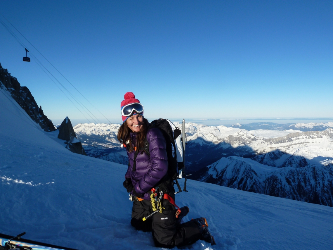 Ross Hewitt Ski Guiding Valley Blanche 003