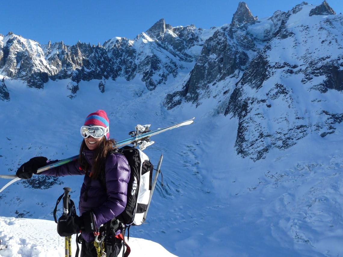 Ross Hewitt Ski Guiding Valley Blanche 004