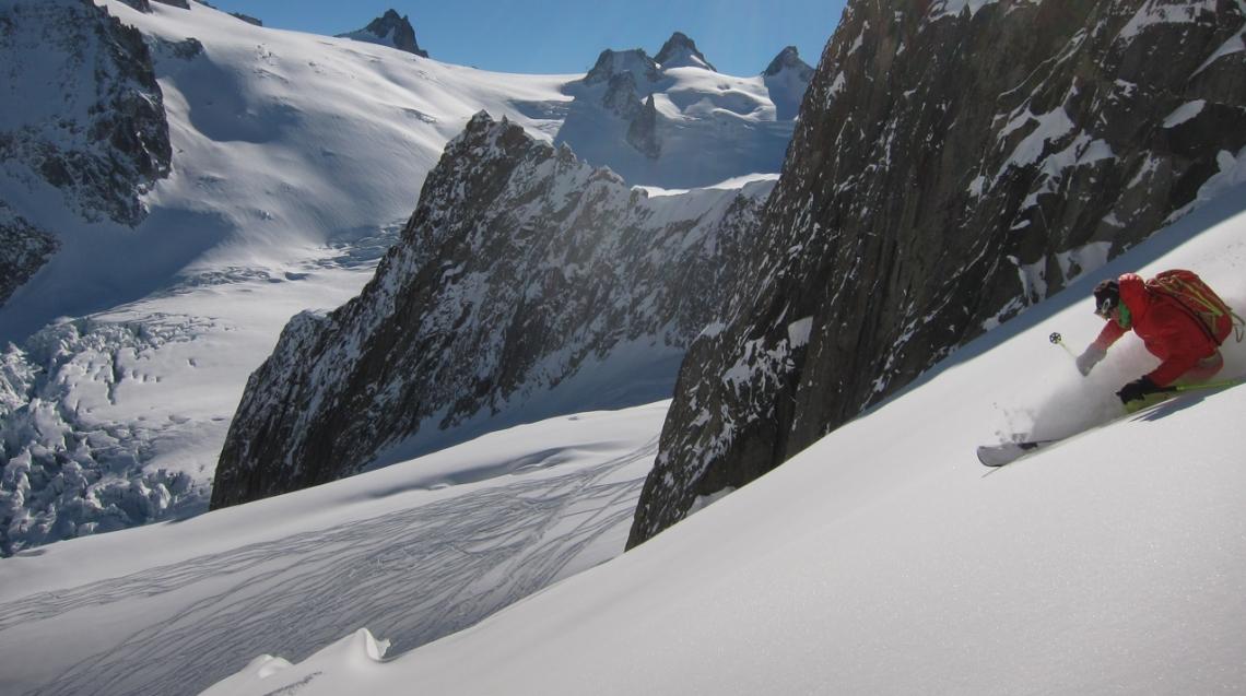 Ross Hewitt Ski Guiding Valley Blanche 005
