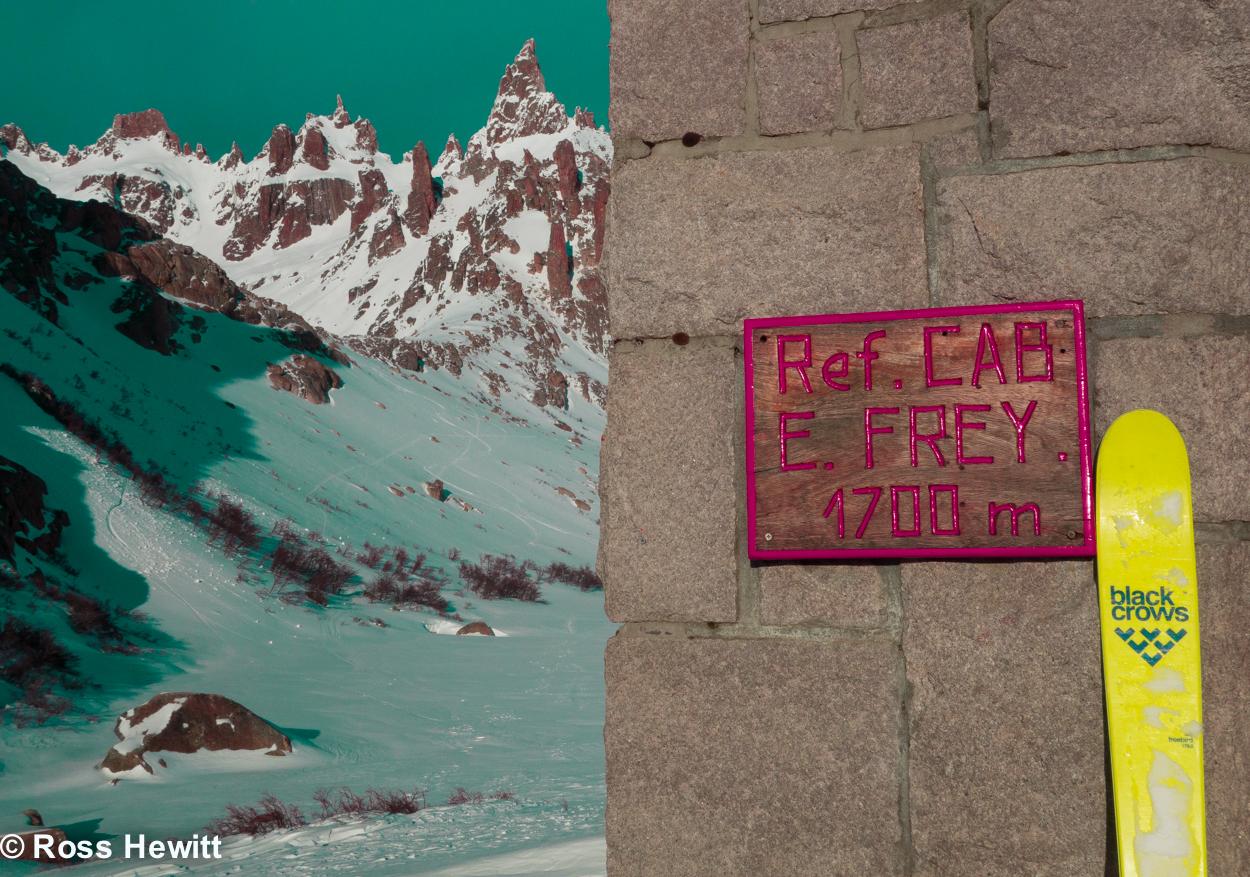 Refugio Frey Cerro Catedral Patagonia Black Crows