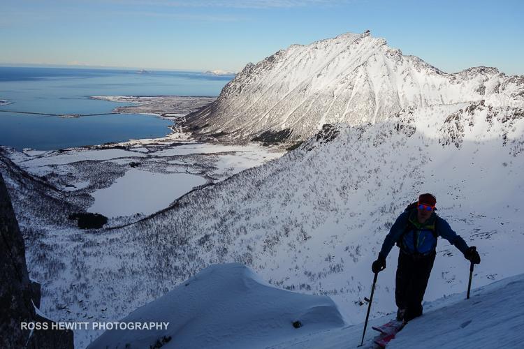 Lofoten Skiing Ross Hewitt Michelle Blaydon-48