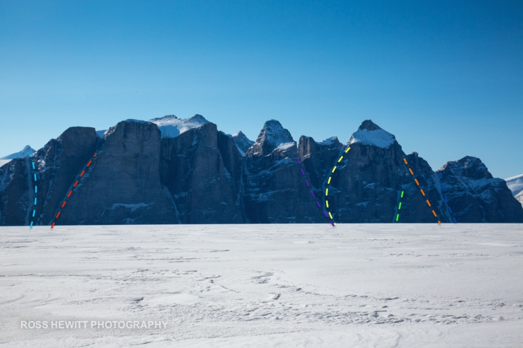 Sam Ford Wall Baffin Island Ross Hewitt topo-1