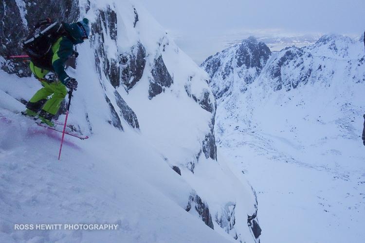 Lofoten Skiing Ross Hewitt Michelle Blaydon-32