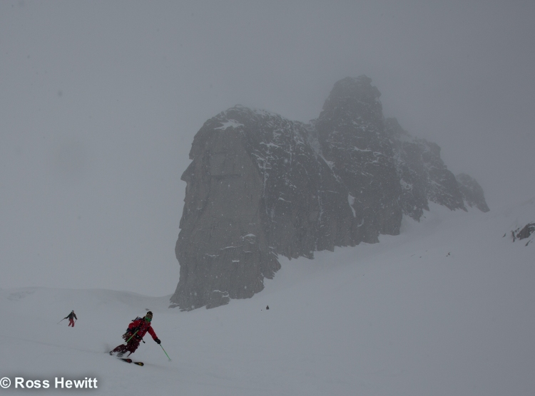 Michelle Blaydon in vallee blanche-9
