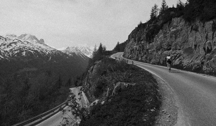 Chamonix to Emosson Dam road biking 1