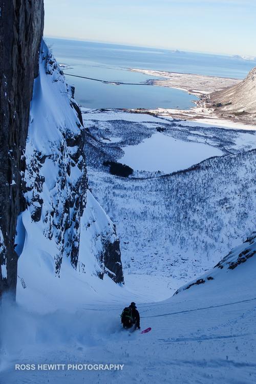 Lofoten Skiing Ross Hewitt Michelle Blaydon-57