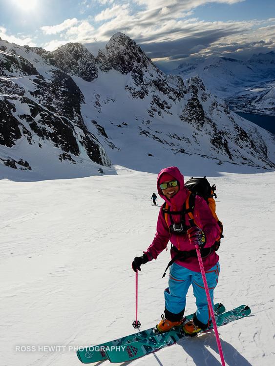 Lofoten Skiing Ross Hewitt Michelle Blaydon-3