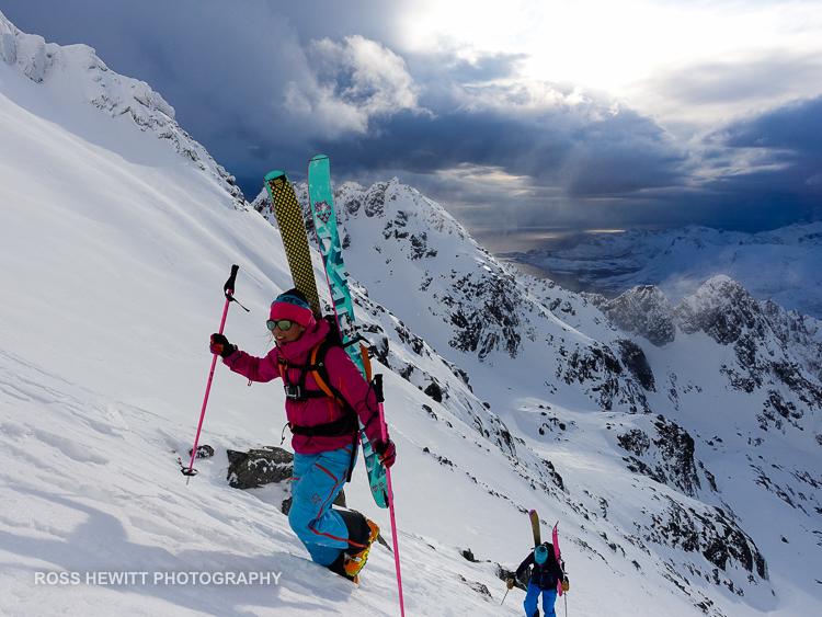 Lofoten Skiing Ross Hewitt Michelle Blaydon-9
