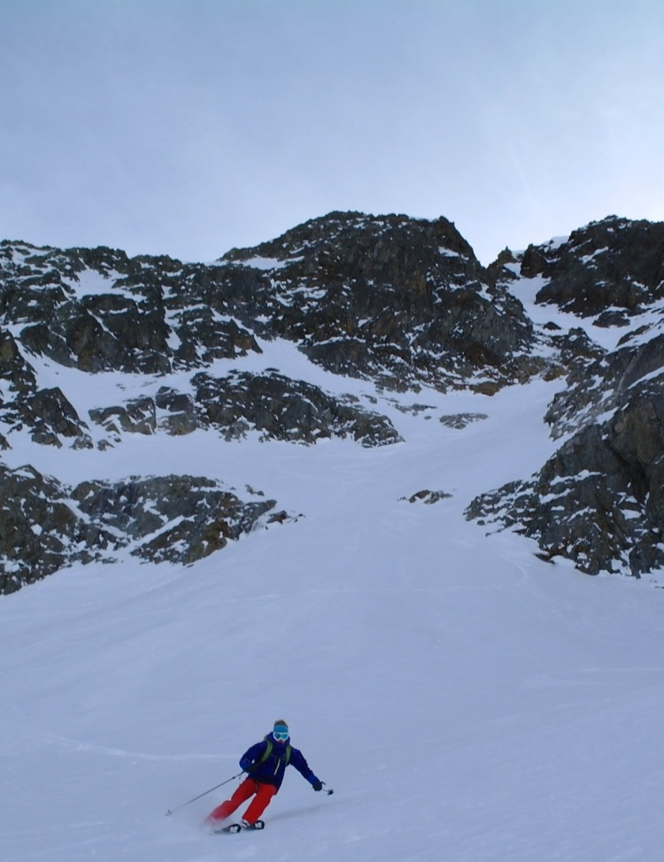 Aiguille Rouge Couloirs 22