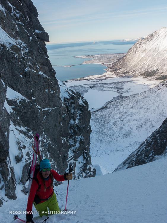 Lofoten Skiing Ross Hewitt Michelle Blaydon-78