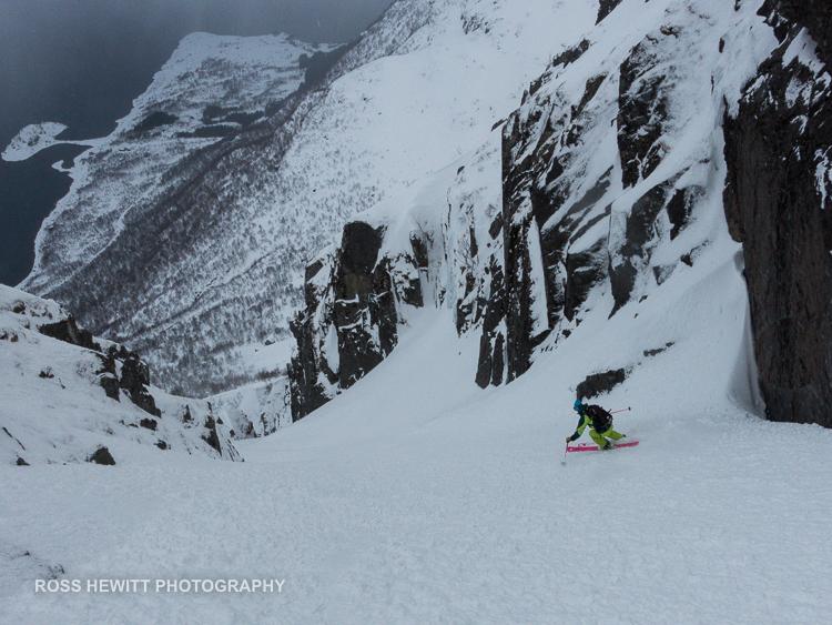 Lofoten Skiing Ross Hewitt Michelle Blaydon-45