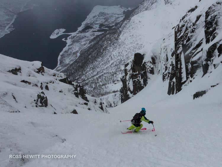 Lofoten Skiing Ross Hewitt Michelle Blaydon-108