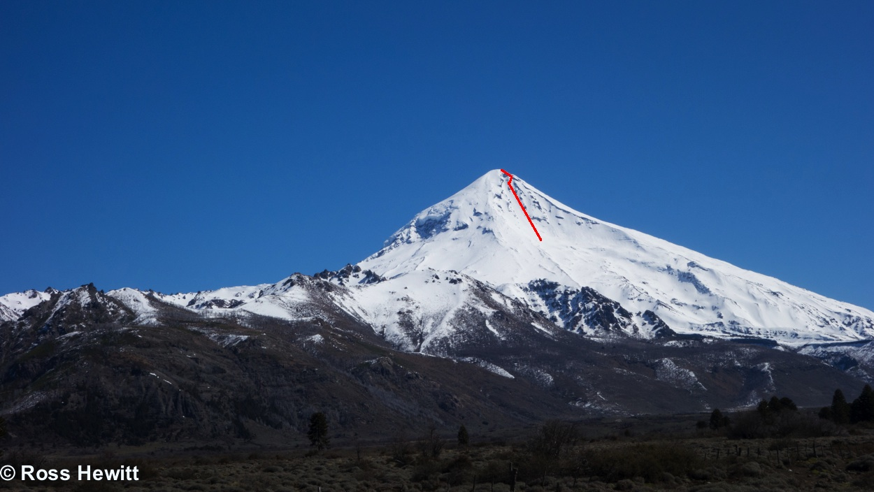 Volcano Lanin East Couloir-0