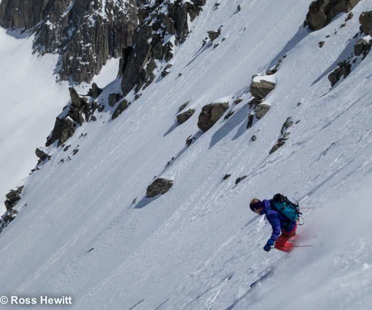 Dave Searle Col Diable and Noire NW Face_-47