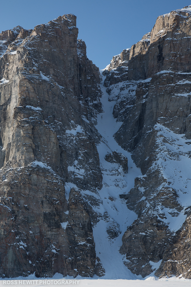 Baffin Scott Island s couloir ski descent topo Ross Hewitt-1